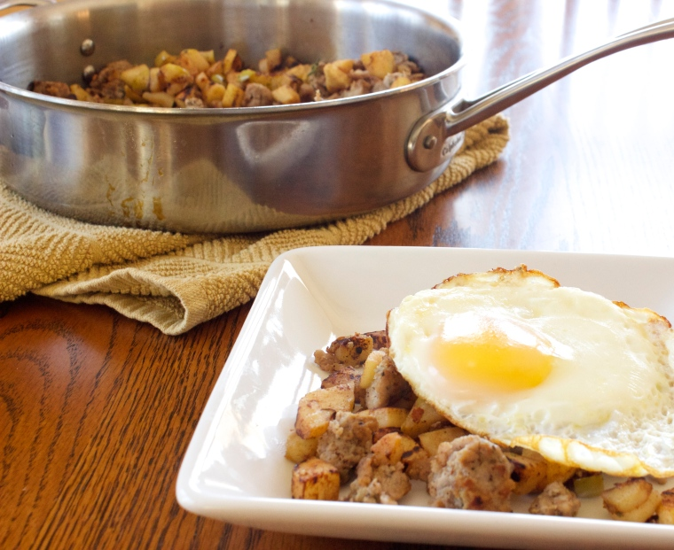 AIP Apple Parsnip Breakfast Hash by PamperedPaleo