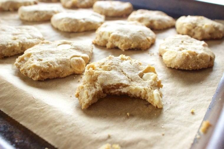 White Chocolate Chip Macadamia Nut Cookies by PamperedPaleo