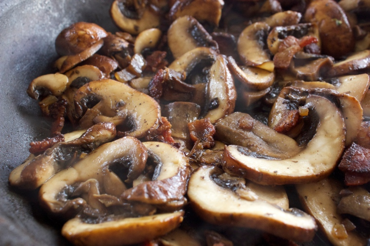Bacon Mushrooms by PamperedPaleo
