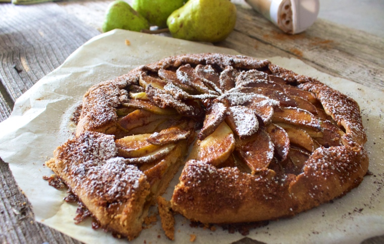 Pear Galette by PamperedPaleo
