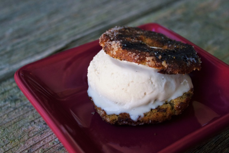 Spudnut Ice Cream Sandwiches | Ellie Eats