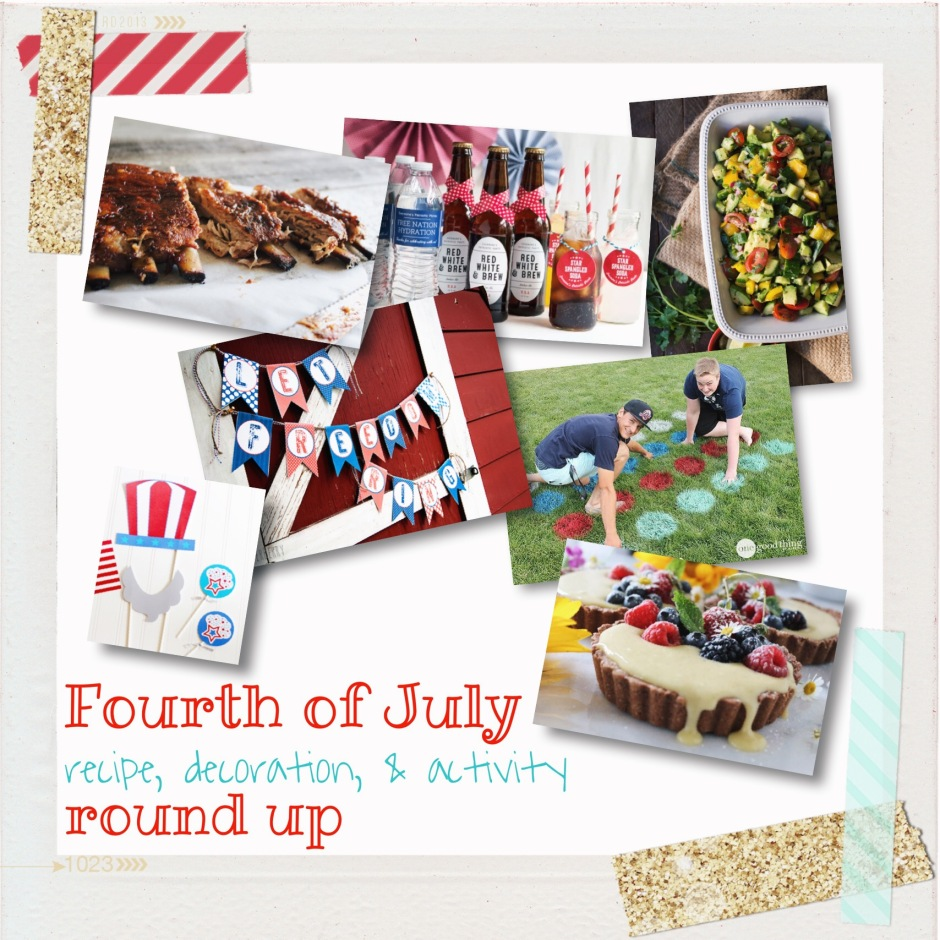 Fourth of July Round Up | Ellie Eats
